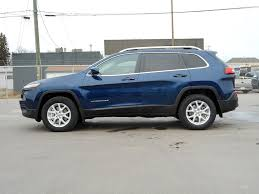 jeep blue new 2018 jeep cherokee 4 door sport utility in cold lake ab 18 007