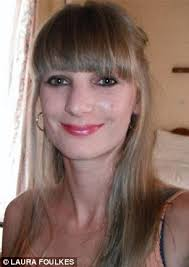 foulkes hair laura foulkes who flew to us in bid to beat bulimia killed herself