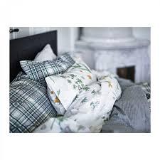 Ikea King Duvet Cover Ikea Strandkrypa King Duvet Cover Pillowcases Set Botanical Green