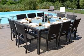 tavoli da giardino rattan grande tavolo da esterno in rattan sintetico di alta annunci napoli