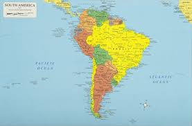 World Continents And Countries Map by South America Continent South America Map List Of Countries In