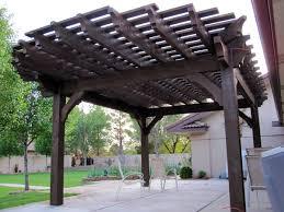 Solid Roof Pergola Kits by 20 Five Star Arbors Pergolas Gazebos Full Wrap Roof Western