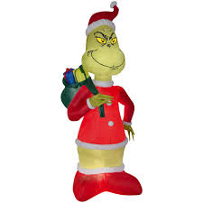 the grinch christmas decorations the grinch christmas inflatables outdoor christmas decorations