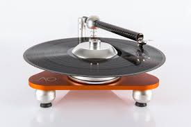 wall mounted record player atmo sfera platterless turntable spins vinyl in the air cool hunting
