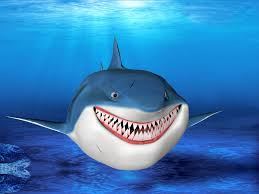 cartoon shark 3d models for download turbosquid