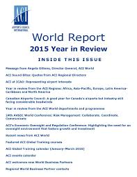 aci world report march 2017 by airports council international