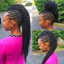 african american kids braided in mohawk 18 best braided mohawk hairstyles images on pinterest protective