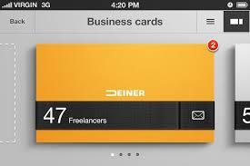desain kartu nama yang bagus 10 contoh desain kartu nama untuk bisnis anda afahrurrojinet