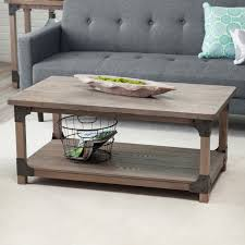 Rustic Coffee Tables And End Tables Belham Living Jamestown Rustic Coffee Table With Unique Driftwood
