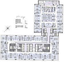plan des bureaux bureaux à louer tour europlaza 92400 courbevoie 8844 jll