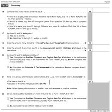 schedule d ez online tax filing
