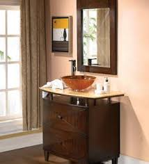 contemporary vessel sink vanity modern vessel bathroom vanity with adelina 36 inch contemporary sink