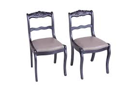 Refurbished Chairs Vintage Dining Chairs Refurbished S 2 Ad Hoc Home