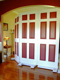Large Room Divider How To Build A Privacy Screen Using Door How Tos Diy