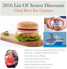 Best Grocery Stores 2016 Best Senior Discounts Retail And Apparel The Senior List