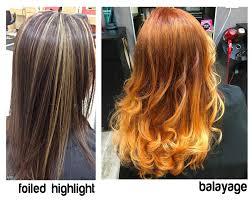 foil highlights for brown hair balayage vs foil highlight how to choose studio stÿl