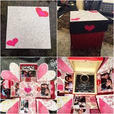 diy handmade gift for boyfriend explosion box youtube
