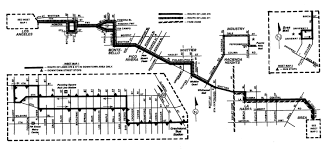 Greyhound Bus Routes Map by Foothill 285 And A History Of Transit Service On Whittier Blvd