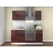 cuisine couleur bordeaux meuble cuisine couleur bordeaux achat vente pas cher