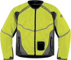 yellow motorcycle jacket icon anthem mesh motorcycle jacket military spec yellow
