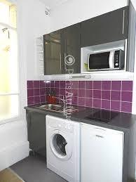 cuisine avec lave linge mini lave linge pour studio maison design bahbe com