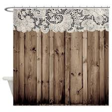 Country Chic Shower Curtains Shabby Chic Lace Barn Wood Shower Curtain By Listing Store 62325139