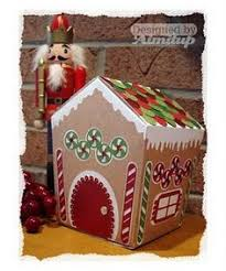 searchwords gingerbread house explosion box christmas