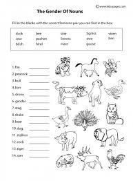 kinds of nouns worksheet grade 5 nouns grade kinds 5 of worksheet