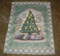 kinkade chapel i lighted tapestry with rod wall