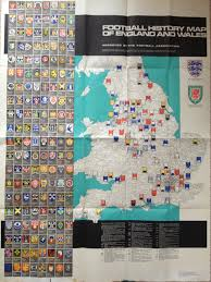 Map Of England And Wales Bartholemew U0027s Maps The Itinerant Football Watcher