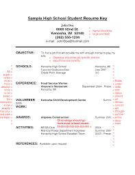 Creating A Job Resume by High Student Resume Berathen Com