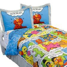 Elmo Bedding For Cribs Sesame Elmo Toddler Crib 10pc Bedding Set Comforter Sheets