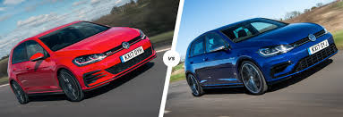 volkswagen gti blue 2017 vw golf gti vs golf r u2013 which hatch is best carwow