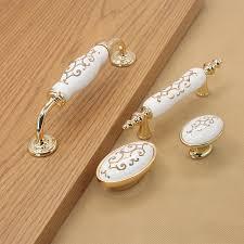 Porcelain Knobs For Kitchen Cabinets 150mm 2pcs Ceramic Decorative Drawer Kitchen Cabinet Wardrobe