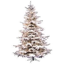 flocked white fir artificial tree top 10 best trees