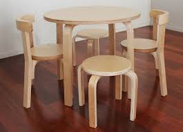 Kids Round Table And Chairs Getting The Best Children Wooden Table And Chairs Home Interiors