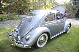 gold volkswagen beetle restored but rarely driven 1957 vw beetle classiccars com journal