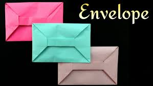 Origami With Letter Size Paper - envelope from a4 sheet no glue or diy origami tutorial by