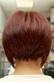 stacked hair longer sides hair style back view i like this stacked look not so much the