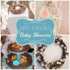 bird baby shower diy football goal post kid friendly bridal showers bird themed