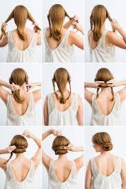 Festliche Frisuren Lange Haare Zum Selber Machen by Die Besten 25 Lässige Hochsteckfrisuren Ideen Auf