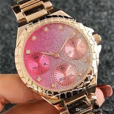 pink bracelet watches images Fashion ladies pink watch luxury brand diamond watches women jpg