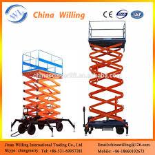 4m hydraulic lifter scissor lift machine hydraulic lift equipment