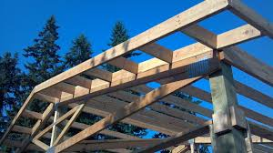 Pole Barns Oregon Overhang Options For Pole Buildings Portland Oregon Locke Buildings