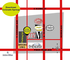 Map Of Colorado Springs Co by Super Helpful Map It U0027s A Back Alley Entrance Yelp