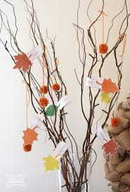 Thankful Tree Craft For Kids - creative thanksgiving crafts for kids