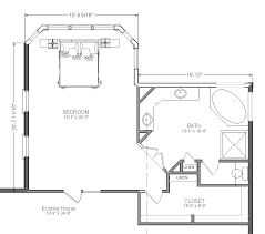large master bathroom floor plans master bedroom addition