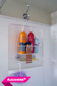 alejandratv video how to organize the shower in your bathroom