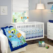 monsters on the go 3 piece crib bedding set disney baby