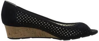 anne klein sport cadwyn peep toe wedge heel women u0027s shoes court